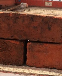 Reclaimed hand made red brick
